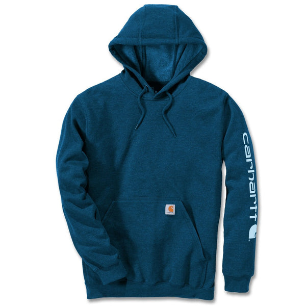 Midweight Signature Sleeve Logo Hoodie Bold Blue