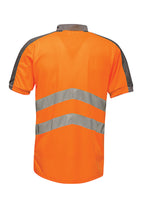 Tactical Threads Hi-Vis Polo Orange