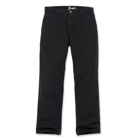 Rugged Flex Rigby Dungaree Black
