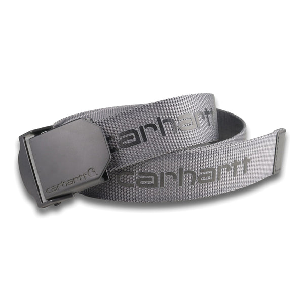 WEBBING BELT Steel Grey
