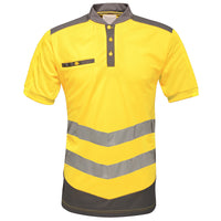Tactical Threads Hi-Vis Polo Yellow