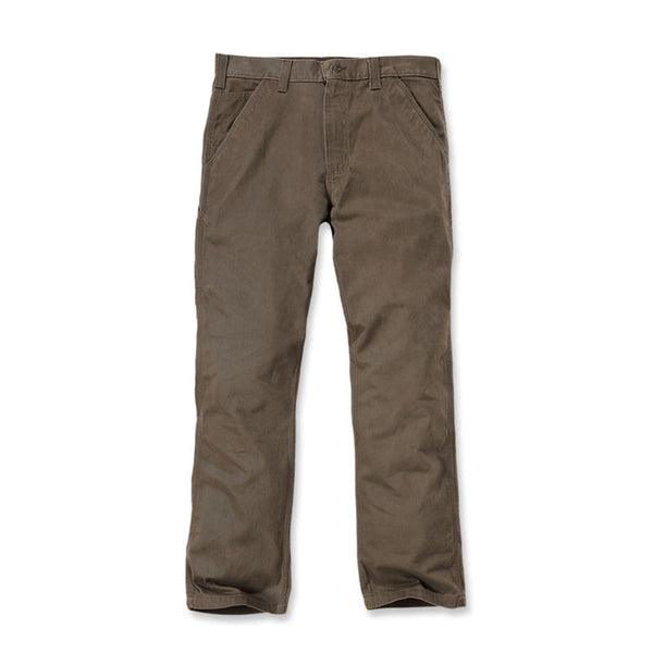 WASHED TWILL DUNGAREE Dark Coffee