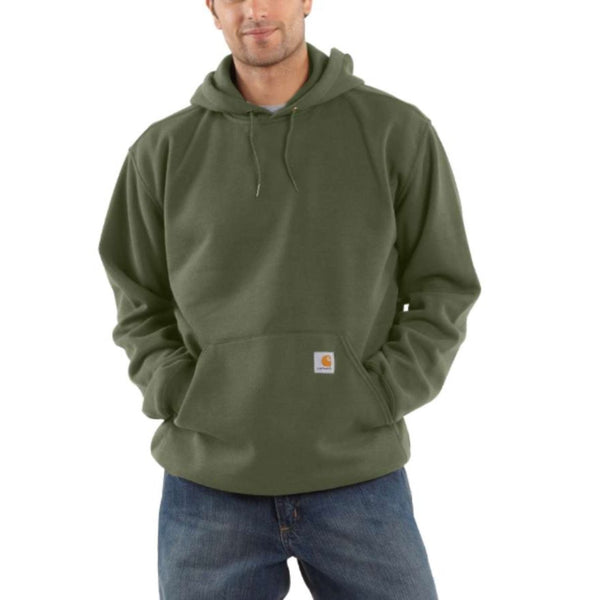 MIDWEIGHT HOODED SWEATSHIRT Moss Green
