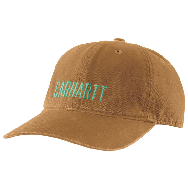 ODESSA BLOCK GRAPHIC CAP Carhartt Brown