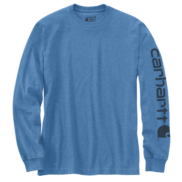 SIGNATURE SLEEVE LOGO LONG-SLEEVE T-SHIRT Coastal Heather
