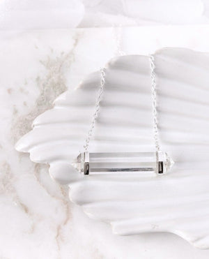 Load image into Gallery viewer, Clear Quartz Necklace