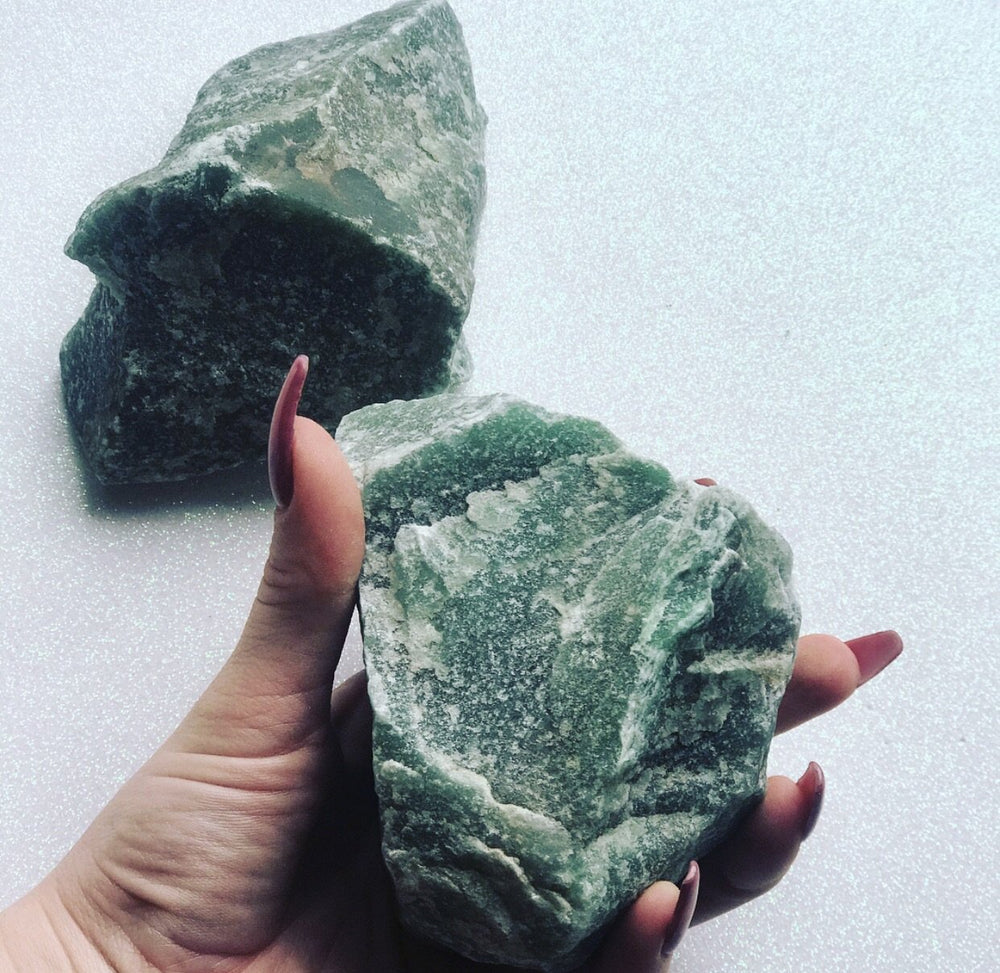 Raw Green Aventurine Crystal