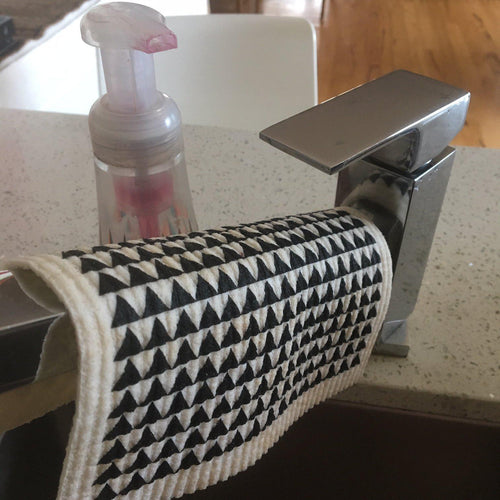 BE Designs Reusable cleaning products Caravans RetroKitchen Reusable Dish Cloth Super Absorbent Machine Washable Biodegradable
