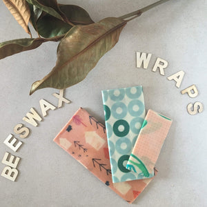 Bee Green Wraps Reusable food containers Jumbo 40x40cm Bee Green Reusable Beeswax Wraps Range of Sizes Natural Organic Cotton Plastic Free Food Wrap