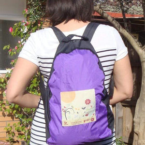 Onya Reusable bags Cockatoo ONYA Reusable Stuffable Backpack Carry Pouch Travel Shop Work School Camping