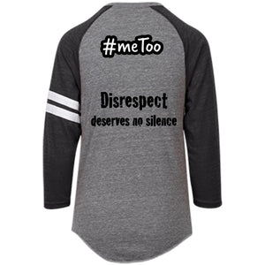 MEN's #meToo protest T-Shirt: Disrespect deserves no silence