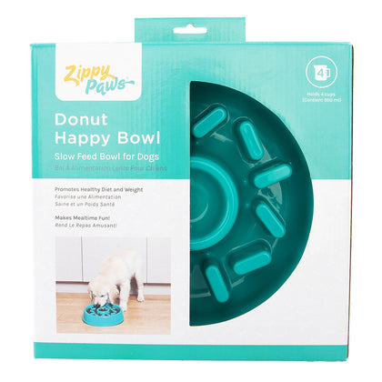 Zippy Paws Donut Slow Bowl