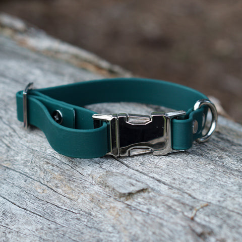 Adventure Slide Release Collar - Hunter Green