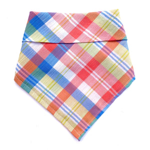 Pretty Plaid Bandana