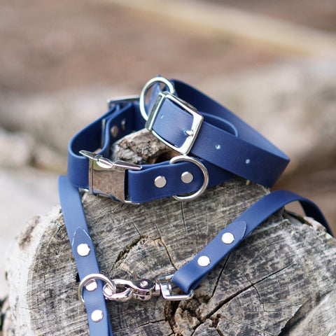 Adventure Slide Release Collar - Navy