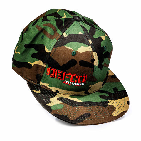 """DEFCO Trucks"" Full Camo FlexFit Hat"