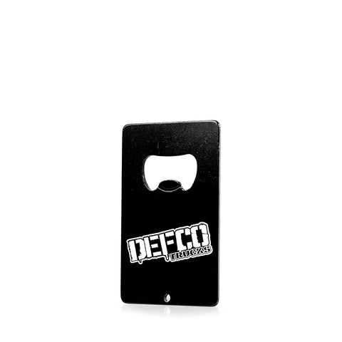 DEFCO Credit Card Bottle Opener