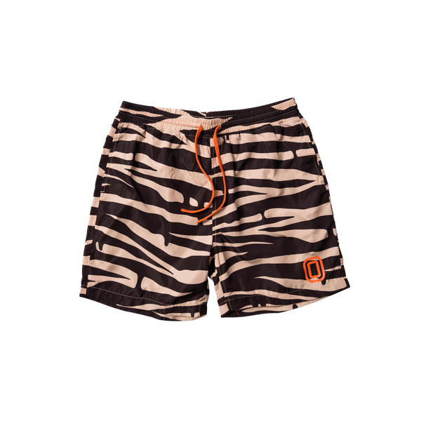 Kids OT Zebra Drip Shorts