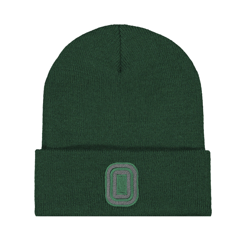 Knit Hat Forest Green