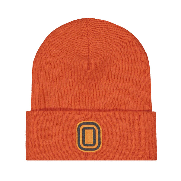 Knit Hat Signal Orange