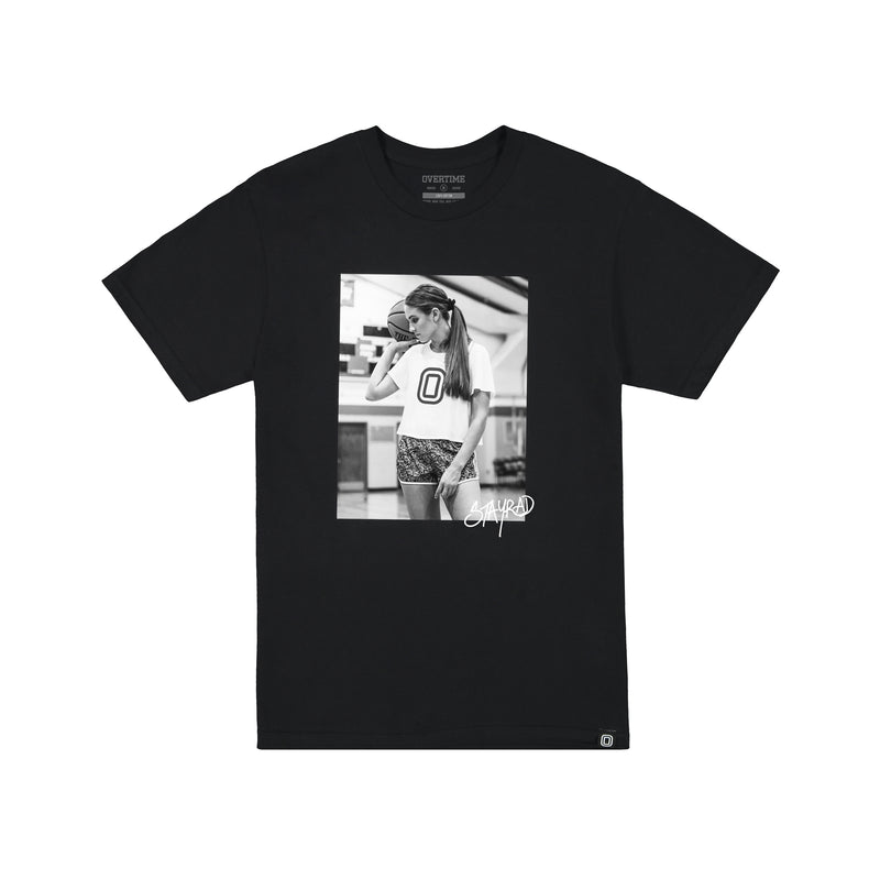 The STAY RAD Tee 'B&W'