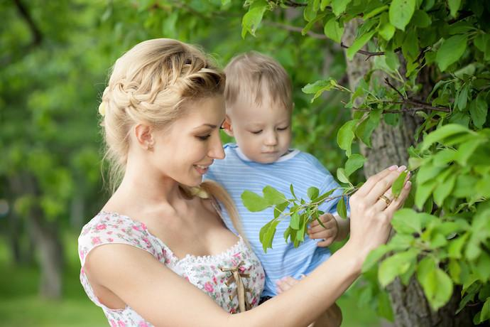 nature with your child
