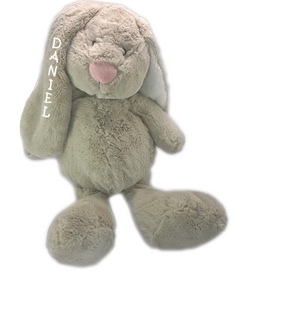 TEDDY BEAR WITH NAME JESSIE, TEDDYKOMPANIET, GRAY - PetitePeople