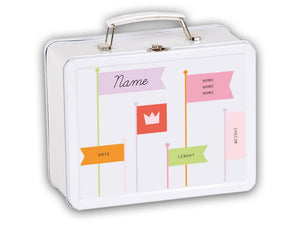 "Welcome box ""Flags"" Girls, personalized - PetitePeople"