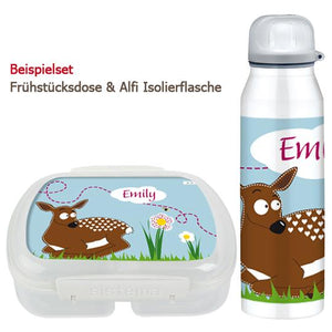 School set can and bottle Bambi - PetitePeople