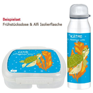 Bread box and bottle - turtle - PetitePeople