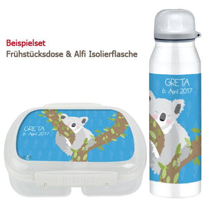 School set can and bottle of koala - PetitePeople
