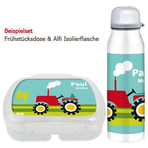 School set can and bottle tractor - PetitePeople