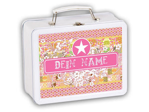 Welcome box Vintage Girl, personalized - PetitePeople
