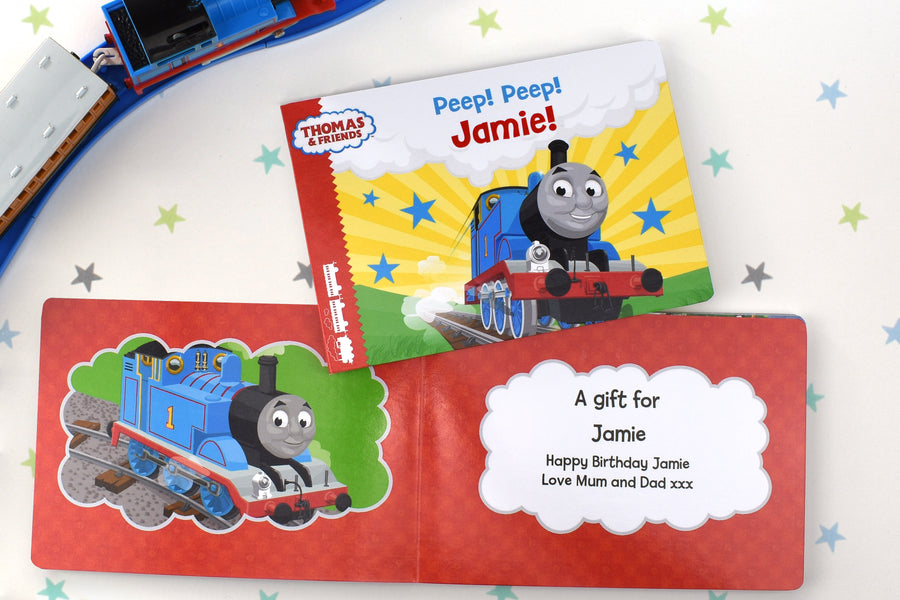 Personalised Thomas and Friends Peep Peep! Board Book