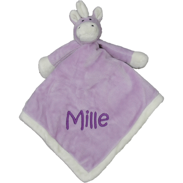 Teddykompaniet Diinglisar Wild personalised cuddle cloth Unicorn