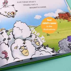 Personalised 'My Day at the Farm' Story Book