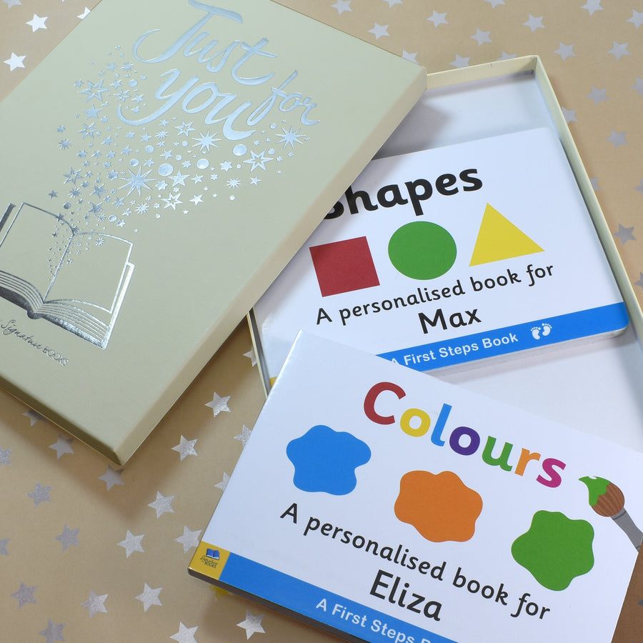 Shapes & Colours Board Book Gift Set