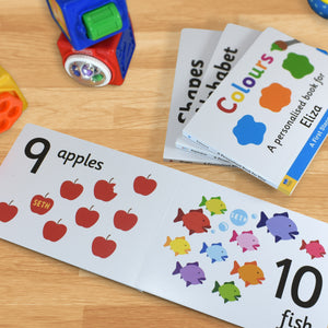 First Steps Numbers Personalised Board Book