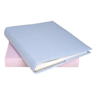 Personalised photo album-  blue or pink - PetitePeople