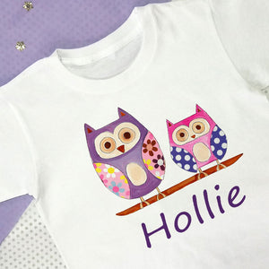 Hoot Personalised T Shirt