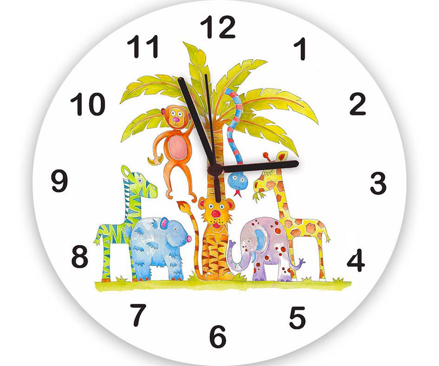 Jungle Fun Clock