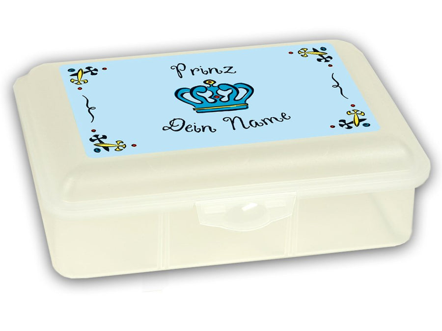 Personalized Lunchbox Prince (double lines) - PetitePeople