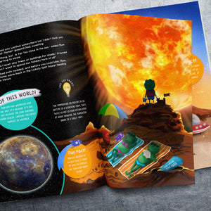 My Personalised Book About Space