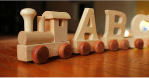 Personalised wooden name train - PetitePeople