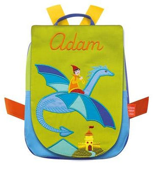 Personalised Children's Backpack Flying Dragon - PetitePeople