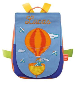 Personalised Children's Backpack Hot Air Balloon - PetitePeople