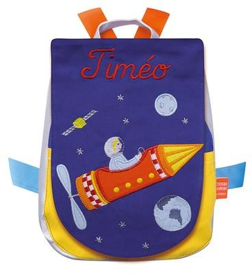 Personalized Children s Backpack Rocket - PetitePeople a78108ac8d