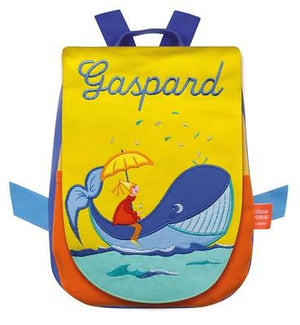 Personalized Childrens Backpack Whale - PetitePeople