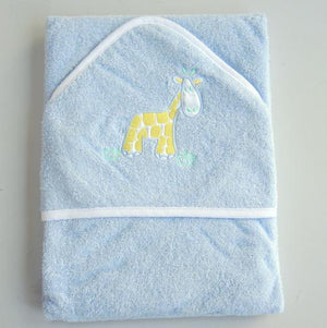 Personalised Baby Boy Hooded Towels - PetitePeople