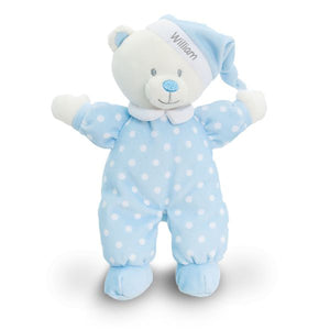 Blue Goodnight Bear - PetitePeople
